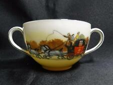 Royal Doulton Coaching Days, Mail Coach, White Horses: Bouillon Cup (s) Only, 18