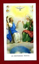 SANTINO - HOLY CARD- IMAGE PIEUSE - Heiligenbild  - LA SANTISSIMA TRINITA'