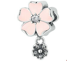 European Dual color Charms pendant Bead For s925 Bracelet Chain us hot sell z3o