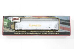 HO Atlas ACF / Amaizo 55ft 4-Bay PressureAide Centerflow Hopper New Sealed #29