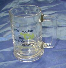 Arctic Cat Glass Drinking Mug - Vintage - 1981 - New!!
