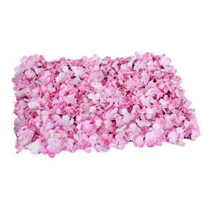 Silk Hydrangea Artificial Flower Wall Panels Wedding Venue Backdrop Pink