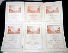 1915 SHEET MUSIC CAMP FIRE GIRLS COMPLETE SET OF SIX- ILLUSTRATED - NOT SCOUT