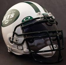 *Custom* New York Jets Nfl Riddell Deluxe Replica Football Helmet