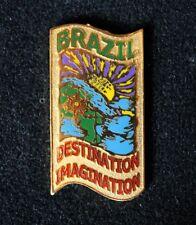 Vintage 2002 Brazil Destination Imagination DI Trading Pin