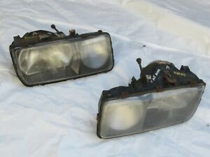 PAIR OF FORD SIERRA MK1 HEADLIGHT GHIA RS COSWORTH XR4i , LEFT & RIGHT, (A)
