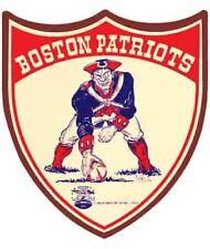 best website 23932 14ef4 Boston Patriots New England NFL AFL Football 1966 Vintage Looking Sticker  Decal