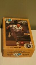 First Edition of PBA Trading Cards 1990 Premier Edition King Pins Earl Antony