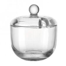 LEONARDO 061141 transparent Glas Zuckerdose – (90 Mm 90 105 Mm)