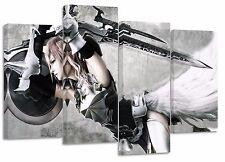 Final Fantasy/Conjunto de 4 Nuevo Lona Impresiones de Split