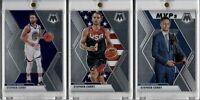 2019-20 Panini Mosiac Stephen Curry Lot of 3 USA MVPs+ Base Warriors 3x Champion