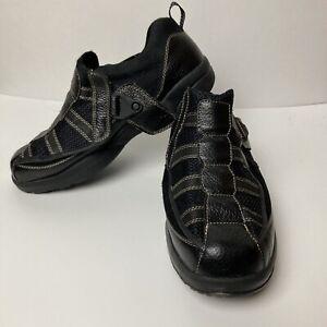 Dr. Comfort Edward X-Depth 9610 Men's Black Adjustable Diabetic Shoes Size 13XW