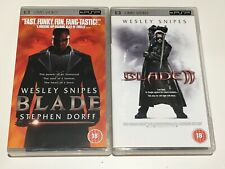 Blade 1-2 Bundle UMD PSP UK Release Region 2 FREE SHIPPING WORLDWIDE!