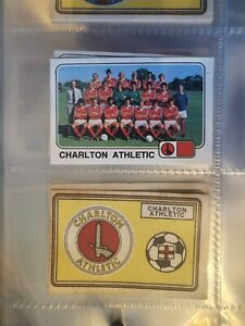 Panini 79 - Charlton Athletic Team and Badge