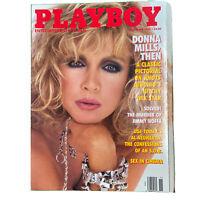 PLAYBOY Magazine Vintage Centerfold November 1989 Donna Mills Jimmy Hoffa
