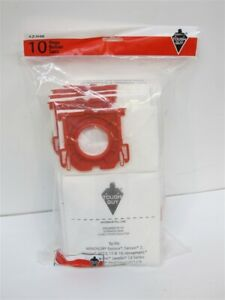 Tough Guy 3ZJH6, Commercial Hi-Filtration Vacuum Bag, 3-Ply, 10 Pack