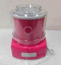 Cuisinart Ice Cream Maker Candy Apple Pink