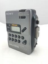 Sony Walkman WM-FX43 Radio Reproductor de Cassette personales Reloj Alarma Vintage