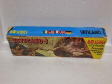 Vintage 60 Travel Color Kodak Film Slides-Souvenir-Rome- Vatican-Papa Wojtyla