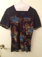 Basic Tee Floral T-Shirts for Men