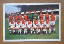 Arsenal (1969-70) - Scotties Famous Football Teams (Series 1) Trade Card.