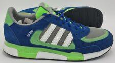Adidas Originals ZX850 Suede Trainers M25738 Green/Blue/White UK8/US8.5/EU42