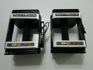 Sportblock Powerblock 6 to 21lb Adjustable Dumbbell Weights (Set of 2) Home Gym
