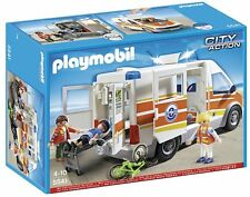 Playmobil  5541 AMBULANCIA CON SIRENA                  CITY ACTION