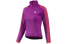 adidas Women's Response Long Sleeve Cycling Jersey Top LS Pink Z11597 XL