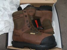 MENS WOLVERINE WORK BOOTS SIZE 11 1/2  X` WIDE
