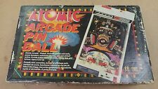 Vintage Atomic Arcade Pinball, Parker, Tomy, Original Box,1979, Working -5