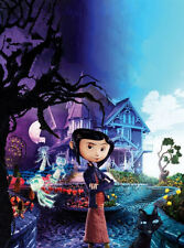 Coraline Edible Birthday Cake Image Topper Frosting Icing 1/4 Sheet