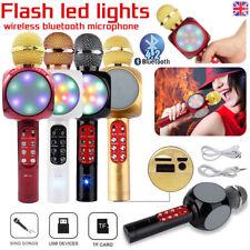 Inalámbrico Bluetooth Altavoz USB Micrófono de Karaoke Hogar KTV Partido ws1816 Reino Unido