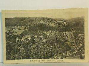 AK Schwarzburg Blick vom Luisensitz