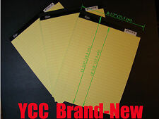 iScholar Legal Ruled Perforated Writing Pad 50 s' 8-1/2x11-3/4in Yellow, 3 pk