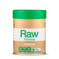 NEW Amazonia Raw Nutrients Greens 120g Alkaline Chlorophyll Superfood