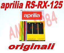 KIT LAMELLE ORIGINALI FIBRA NERA Ø 0,60 APRILIA RS 125 RX 125  ROTAX 122-123