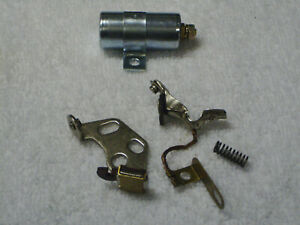 Points & Condenser Set for Harley Knucklehead or Flathead, 1930 to 1948