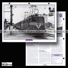 #110.10 Fiche Train - Chemin de fer : LA LOCOMOTIVE CC 20001 - 1951