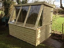 8 x 6 Potting shed / Fully pressure treated FREE FITTING