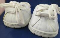 Build a Bear BABW Shoes White Athletic Skechers Tie & Strap