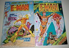 E-Man 1 to 3 Plus #1 Modern Comics edition