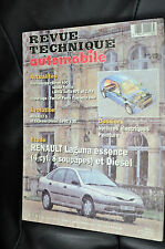 Revue technique automobile Renault laguna essence et diesel n° 574