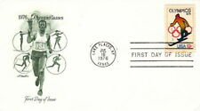 1976 OLYMPIC SKI - LAKE PLACID NY CACHET FDC COVER