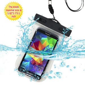 Universal T-Clear Waterproof Pouch (with Lanyard) for iPhone 7,iPhone 6s/6
