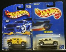 2 NEW HOT WHEELS HUMMER 188 & 162 RESCUE POLICE