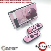 Kit Housse Nintendo Switch & Joycon / Kirby Super Smash Bros / Coque Case for