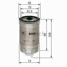 Filtro de combustible Bosch 1457434106 AUDI CITROEN FIAT FORD OPEL RENAULT VOLVO