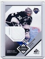 16-17 2016-17 SP GAME USED JONATHAN QUICK ALL-STAR SKILLS JERSEY AS-JQ KINGS