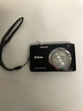 Nikon Coolpix S 2600 14MP Digital Camera  Only! Used